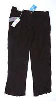 Womens Denim Co Brown Trousers Size 12/L29