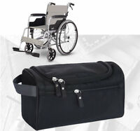 Wheelchair Armrest Storage Side Bag Pocket/Scooter Walker Rollators Frame Attach