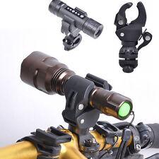Universal Bicycle Bike LED Torch Front Light Flashlight Mount Bracket Holder New