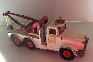 Matchbox Scammell Heavy Wreck Tow Truck Vintage England