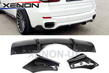 Carbon Fiber Rear Diffuser Flaps for BMW X5 F15 M-Performance look, High Quality