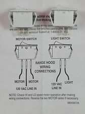 S97016971 - Broan Vent Hood Light Switch Kit 97016971