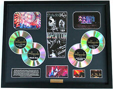 New Led Zeppelin Signed Limited Edition Memorabilia Framed