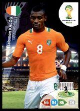 Panini Brazil 2014 Adrenalyn XL Salomon Kalou Ivory Coast Base card