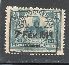 Haiti Scott # 191  - MLH -  F-VF - Type 1 ovpt.