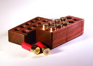 10 Rd Walnut Ammo Box 20 Gauge Shotgun Winchester Remington benelli browning ga