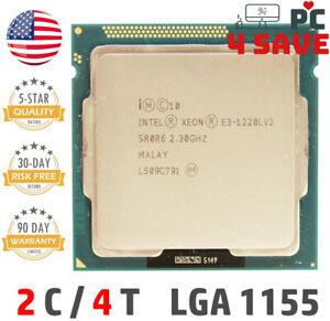 Intel Xeon E3-1220L V2 SR0R6 2.30GHz (Up to 3.50GHz) 3MB LGA 1155 Processor 17W