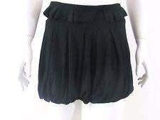 HANGER Black Mini bubble club  Party Skirt Sz M