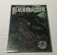Rise of The Black Panther #1 Stan Lee Dna Black Ink 0660