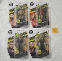 Mattel NXT Take Over WWE Build An Announcer's Table Lot of 4 Akam Rezar Rhode A