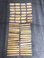 61 Antique Ivorine Piano Keys