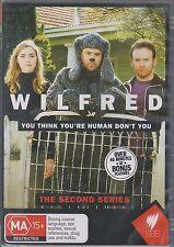 WILFRED - Complete 2nd Australian Series. Jason Gann (NEW/SEALED 2xDVD SET 2010)