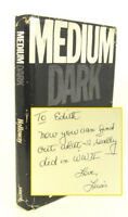 Medium Dark - by Lewis J. Holloway Signed with letter & newspaper clipping 1982