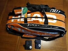 Head Tour Monstercombi Team-6-Racquet Bag - Tennis -New with Tags- Climate Cct