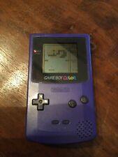 Nintendo Game Boy Color Handheld-Spielekonsole - Lila + 3 Spiele