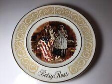Vtg Avon Betsy Ross Decorative Plate