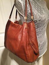 COACH Madison Phoebe Brown Leather Shoulder/hand Bag No 26224
