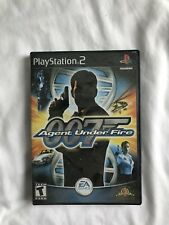 Used PS2 Playstation 2 007 Agent Under Fire James Bond Video Game