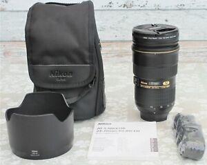 Nikon AF-S Nikkor 24-70 f2.8G ED full frame zoom lens. Excellent condition boxed
