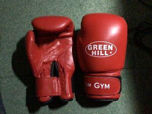 Boxing Gloves Leder Box Handschuhe Neu unbenutzt, 10oz 12oz