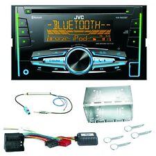 JVC KW-R920BT Bluetooth CD USB AUX MP3 Autoradio Einbauset für Fox Polo 9N3