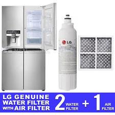 LG GENUINE 2X GF-5D712SL.ASTRGAP WATER FILTER + LG AIR FILTER LT120F