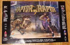 Vince Carter Raptor vs. Raptor Gatorade poster-1999-Toronto Raptors