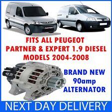 Peugeot Partner & Expert 1.9 D Diesel 2004-2008 Alternator Van MPV 222 224 5F