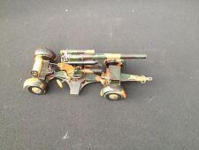 A311/  TCO Tippco Miltärspielzeug Kanone 8/8 für die  Halbkette von ca. 1935/TOP