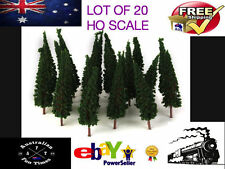 Unbranded HO Scale Model Train Scenery & Trees