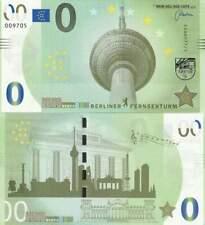 Biljet billet zero 0 Euro Memo - Berliner Fernsehturm (014)