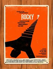 TIN-UPS Tin Sign Rocky Silvester Stallone Vintage Movie Art Poster