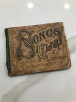 Vintage 1884 Fillmore's Songs Of Glory Jas H Fillmore Hymn Book Super Rare