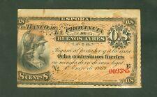 ARGENTINE (PICK SPECIALISE S.500a) PROVINCIA DE BUENOS AYRES 8 CENTESIMOS 1869