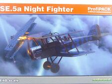 SE.5a Nachtjäger Doppeldecker - Eduard  Flugzeug Bausatz 1:48 - 82133  #E