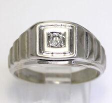 Joyería de diamante de 10 quilates para hombre
