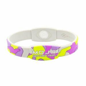 "Mojo Wristband 7"" Elite Camo Lime/Pink"