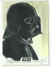 Topps Star Wars Rogue One Series 2 Darth Vader Sketch Card by Sol Mohammed