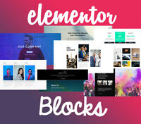 500+ Elementor Blocks / Templates (Wordpress). No PRO Needed! PACK 1
