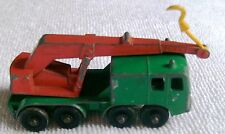 1960s Matchbox Toys # 30 8-Wheel Crane Made In England By Lesney Co.