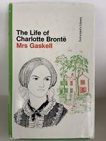 The LIFE OF CHARLOTTE BRONTE by Mrs Elizabeth Gaskell Rare Hardback DJ