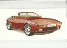 TVR 400 SE  SALES BROCHURE @1990