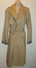 River Island 100% Cotton Belted Trench Coat Size 10