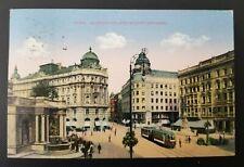 1947 Wien Vienna Austria Mozart Monument City Street Picture Postcard Cover