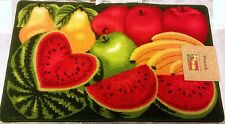 DANIELS WATERMELON KITCHEN RUG WITH NON SKID BACK