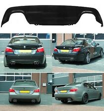 BMW E60 E61 M TECH M5 DIFFUSER REAR DIFFUSOR VALANCE M5 LOOK 5 SERIES ALL MODELS