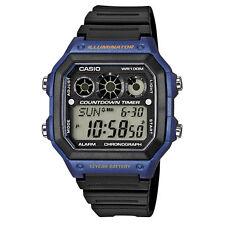 Casio Armbanduhren in Blau