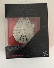Star Wars Black Series Titanium Series MIllennium Falcon #01