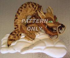 Pattern of 'Chinese Dragon' Intarsia