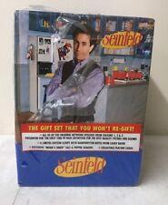 Seinfeld: Season 1 2 3 DVD Boxed Gift Set w Monks Diner Salt & Pepper Script Box